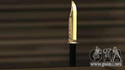 Knife Chrome para GTA San Andreas