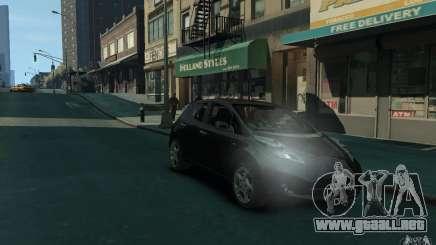 Nissan Leaf 2011 para GTA 4