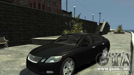 Lexus GS450 2006 para GTA 4