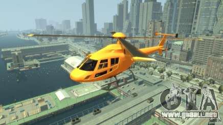 Helicopter From NFS Undercover para GTA 4