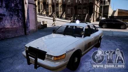 Russian NOOSE Cruiser para GTA 4