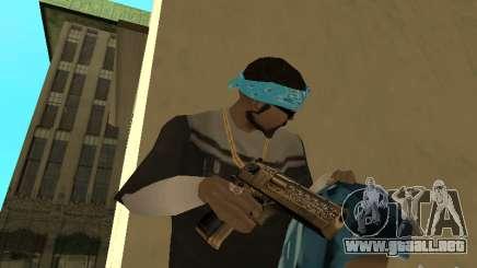 Deagle dorada para GTA San Andreas