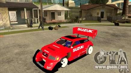 Suzuki Escudo Pikes Peak V2.0 para GTA San Andreas