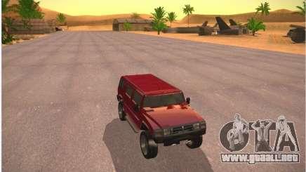 Patriota de GTA 4 para GTA San Andreas