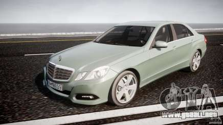 Mercedes-Benz E63 2010 AMG v.1.0 para GTA 4