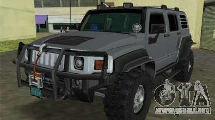 Hummer H3 SUV FBI para GTA Vice City