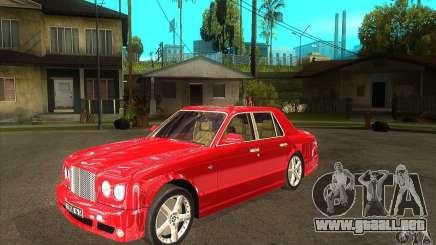 Bentley Arnage T para GTA San Andreas
