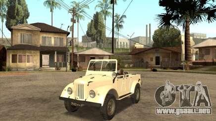 GAZ 69A para GTA San Andreas