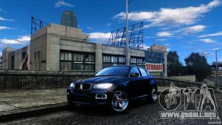 BMW X6 2013 para GTA 4