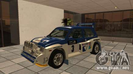 MG Metro 6M4 Group B para GTA San Andreas