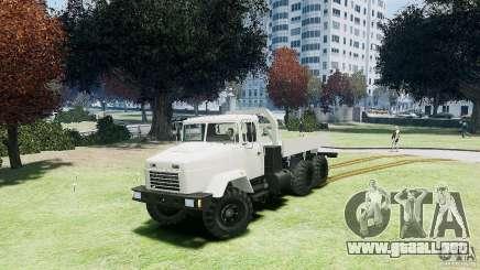 KrAZ-6322 para GTA 4