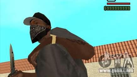 New Knife para GTA San Andreas