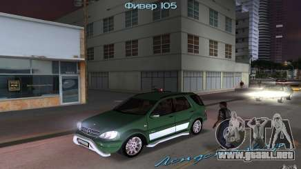 Mercedes-Benz ML55 Demec para GTA Vice City