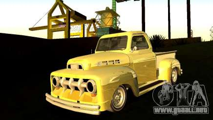 Ford Pick Up Custom 1951 LowRider para GTA San Andreas