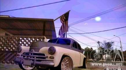GAZ m 20 ganador 1956 para GTA San Andreas
