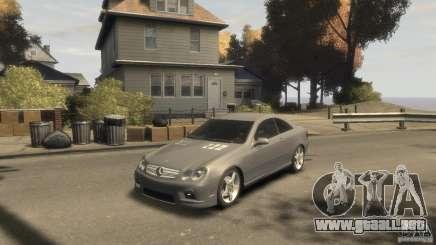 Mercedes-Benz CLK 63 AMG para GTA 4