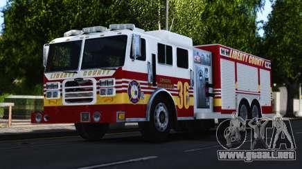 Pierce Heavy Rescue Pumper V1.4 para GTA 4