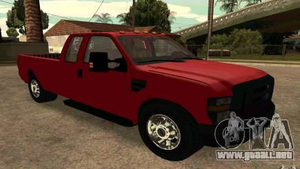 Ford F250 Super Dute para GTA San Andreas