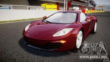 McLaren MP4-12C [EPM] para GTA 4