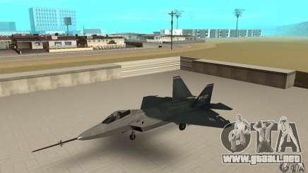 YF-22 Standart para GTA San Andreas