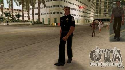 Nueva versión de la policía de ropa 2 para GTA Vice City