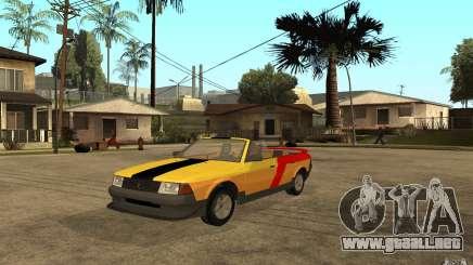 Moskvich 2141 Cabriolet para GTA San Andreas