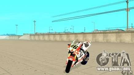 Honda Valentino Rossi Pcj600 para GTA San Andreas