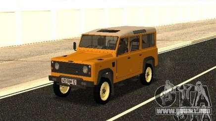 Land Rover Defender 110 para GTA San Andreas