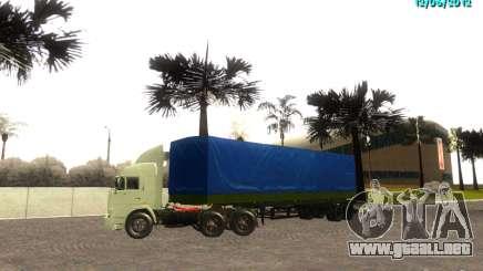NEFAZ 93344 para GTA San Andreas