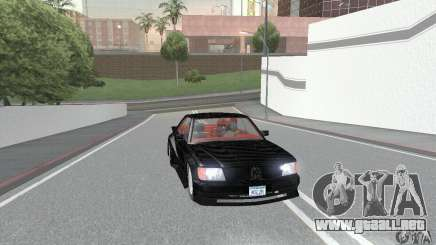 Mercedes-Benz C126 500SEC KS para GTA San Andreas