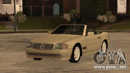 Mercedes-Benz 500SL para GTA San Andreas
