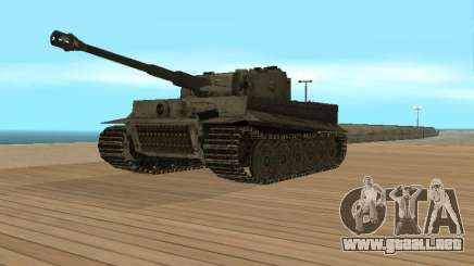 Pzkpfw VI Tiger para GTA San Andreas