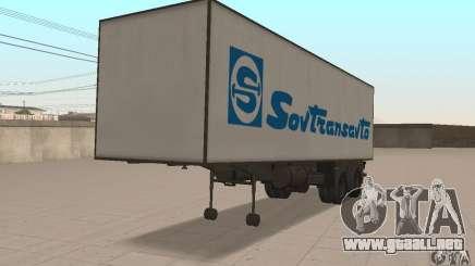 Sovtransavto Trailer para GTA San Andreas