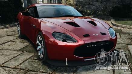 Aston Martin V12 Zagato 2011 v1.0 para GTA 4