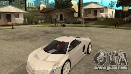Cadillac Cien blanco para GTA San Andreas