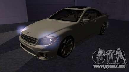 Mercedes-Benz CL65 AMG para GTA San Andreas