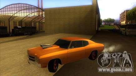 Chevy Chevelle SS Hell 1970 para GTA San Andreas