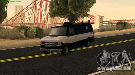 New News Van para GTA San Andreas