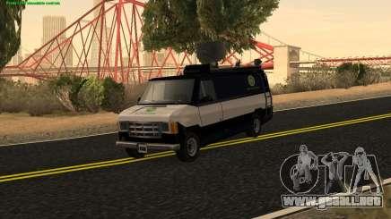 New News Van para GTA San Andreas