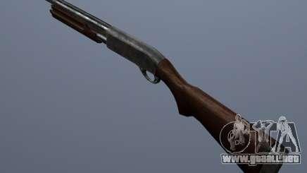 Remington 870AE Silver para GTA San Andreas