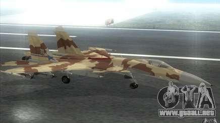 El Su-37 Terminator para GTA San Andreas