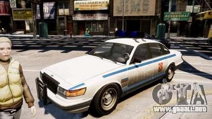 Russian Police Cruiser para GTA 4