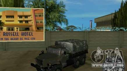 Ural 4320 Military para GTA Vice City
