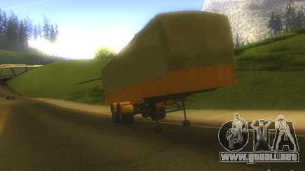 Remolque MAZ 5205 para GTA San Andreas