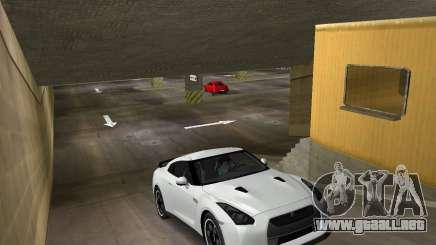 Nissan GT R35 Vspec para GTA Vice City