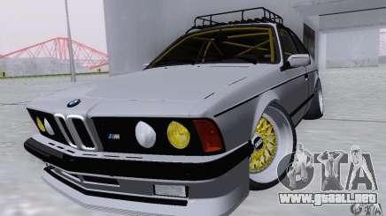 BMW M635CSi Stanced para GTA San Andreas
