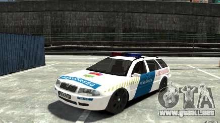 Skoda Octavia Kombi 2005 Hungarian Police para GTA 4