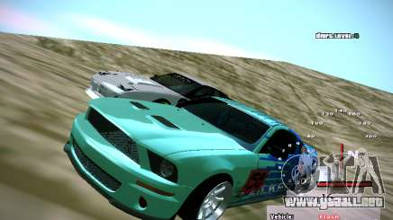 Ford Shelby GT500 Falken Tire Justin Pawlak 2012 para GTA San Andreas