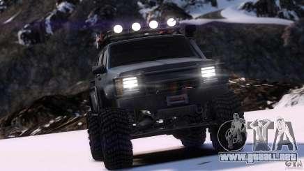 Jeep Cheeroke SE v1.1 para GTA 4