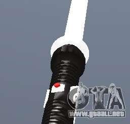Lightsabre v2 White para GTA San Andreas